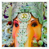 Bubble-free stickers - Lord Ganesha for great beginnings and luck  - Hinduism