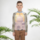 Youth Rash Guard - Taj Majal  The Jewel of Muslim  art in India - Islam
