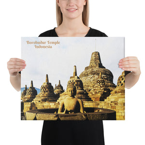 Canvas - Borobudur Temple - Indonesia - Mahayana Buddhism