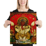 Poster - Lord Ganesha - City Palace, Udaipur - Remover of Obstacles - Hinduism -  India