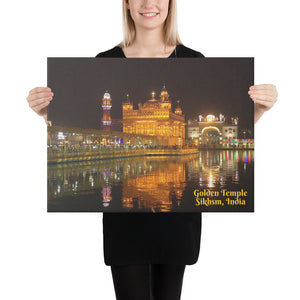 Canvas - The Golden Temple - Amritsar, Punjab, India - Sikhism