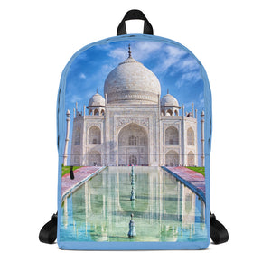 Backpack - Taj Majal The Jewel of Muslim  art in India  - Islam and Hinduism