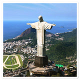 Bubble-free stickers - Cristo Redentor - Brazil - Christianity