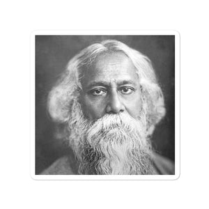 Bubble-free stickers - The great poet Tagore - Hinduism