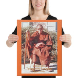 Canvas - Venerable Taungpulu Sayadaw of Myanmar (Burma) - in TKAM Boulder Creek - CA USA - Theravada Buddhism