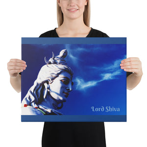 Canvas - Lord Shiva - the 1st God of Hinduism - India