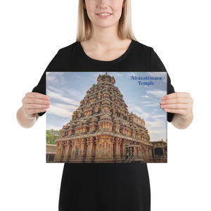 Canvas - Airavatesvara Temple - Shiva - Hinduism - Kumbakonam - India