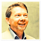 Bubble-free stickers - Eckhart Tolle - the Power of being in the NOW - Self Inquiry - Hinduism