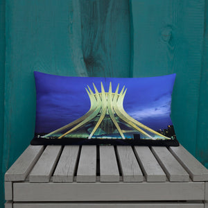 Premium Pillow - Cathedral of Brasília -  - Brasil - South America - Catholicism