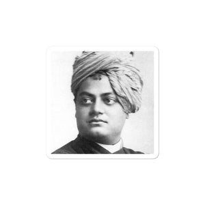Bubble-free stickers - Swami Vivekananda - the great disciple of Ramakrishna - Hinduism