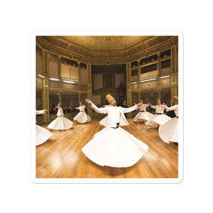Bubble-free stickers - Ecstatic Sufi Dances - Islam
