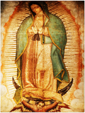 GELATO GLOBAL PRINT- Portrait Aluminum Print - Our Lady of Guadalupe, also known as the Virgen of Guadalupe - Mexico - Catholicism