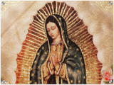 GELATO GLOBAL PRINT - Landscape ACRYLIC Print - Our Lady of Guadalupe, also known as the Virgin of Guadalupe - as the Virgen of Guadalupe - Mexico - Catholicism