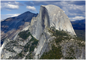 GELATO GLOBAL PRINT - Landscape Aluminum Print - Half Dome is a granite dome in Yosemite National Park in CA USA