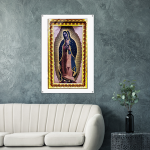 GELATO GLOBAL PRINT - Portrait ACRYLIC Print - Our Lady of Guadalupe, also known as the Virgin of Guadalupe as the Virgen of Guadalupe - Mexico - Catholicism