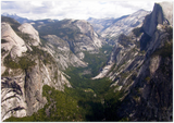 GELATO GLOBAL PRINT - Landscape Aluminum Print - A View of Yosemite National Park in CA USA