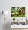 GELATO GLOBAL PRINT - Landscape Aluminum Print - John Oliver s Cabin - Great Smoky Mountains National Park. TN & NC USA