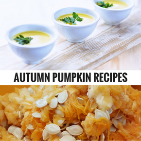 With pumpkins everywhere during Autumn we decided to share some of our favourite (healthy) recipes