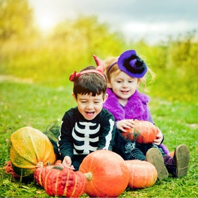 A trick or treating expedition is fraught with dangers of high sugar foods! Here's our approach to some healthier Halloween snacks.