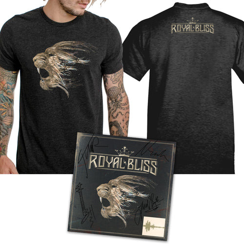 004. Album T-Shirt, Autographed CD