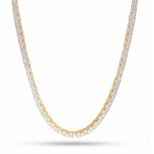 Load image into Gallery viewer, 4MM CZ TENNIS CHAIN IN GOLD - DRIP MIAMI