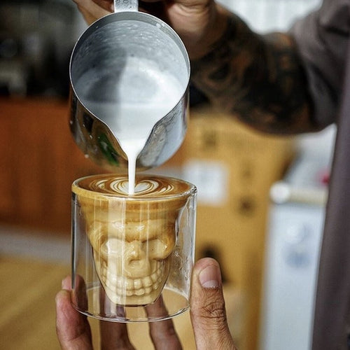 Coffee & Shot Skull Glasses