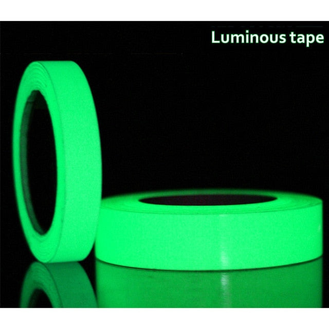 15mm x 3M/Roll Glow In The Dark Adhesive Tape