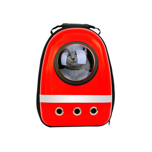 "Cat & Dog ""Astronaut"" Travel Backpack"