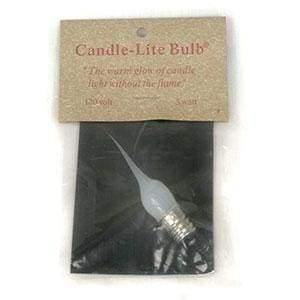3 Watt Small Candle-Lite Light Bulb - Box of 12 - Countryside Home Decor