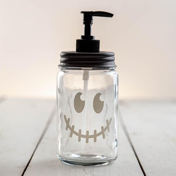 Jack-O'-Lantern Face Soap Dispenser
