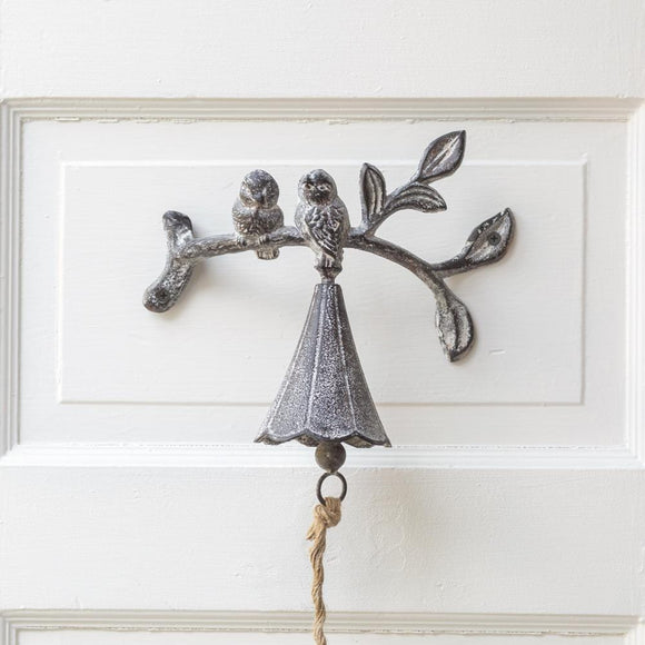 Birds on a Branch Bell - Countryside Home Decor