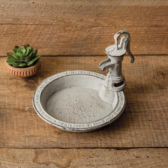 Water Pump Soap Dish - Countryside Home Decor
