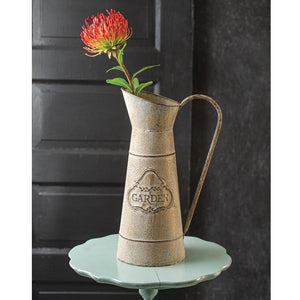 Long Narrow Pitcher - Countryside Home Decor