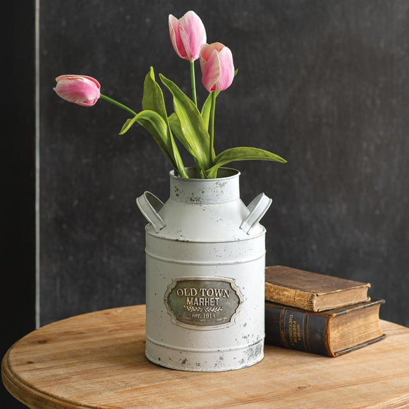 Old Town Market Milk Can - Countryside Home Decor