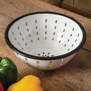 Enamel Colander - Countryside Home Decor