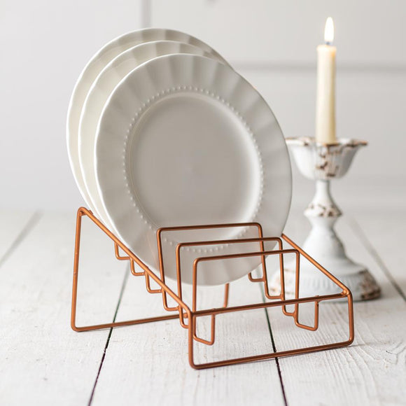 Small Plate Rack - Countryside Home Decor