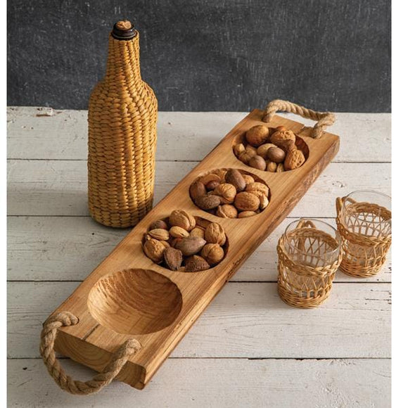 Wood Runner Tray - Countryside Home Decor