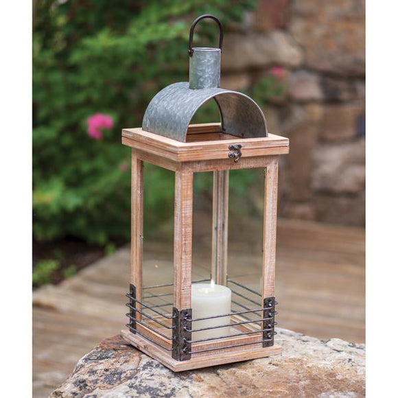 Modern Farmhouse Lantern - Countryside Home Decor