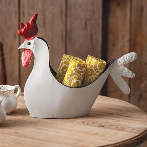Rooster Container - Countryside Home Decor