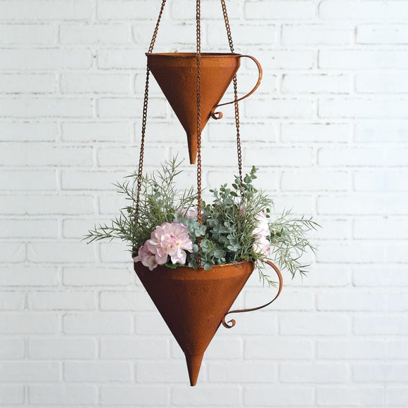 Two-Tier Funnel Planter