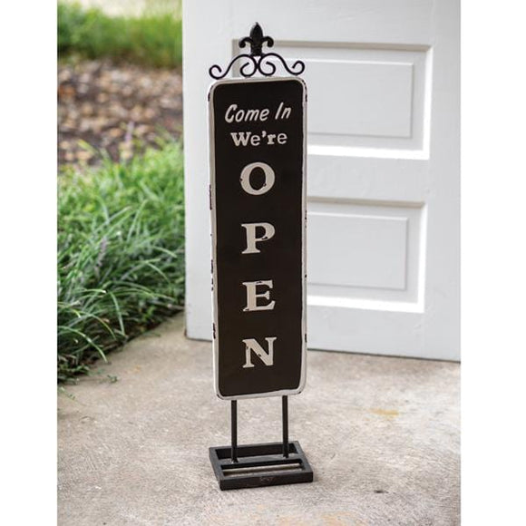 Open/Closed Standing Sign - Countryside Home Decor