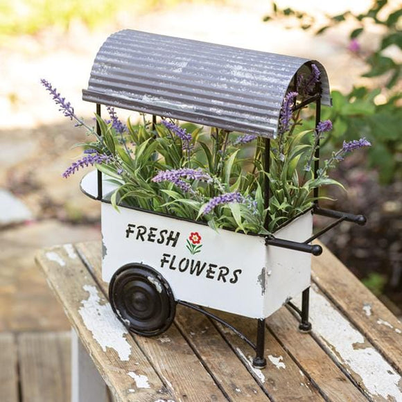 Fresh Flowers Cart - Countryside Home Decor