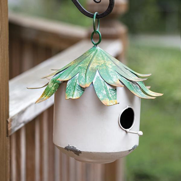 Beach Bungalow Birdhouse - Countryside Home Decor
