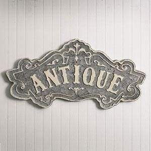 Antique Metal Sign - Countryside Home Decor