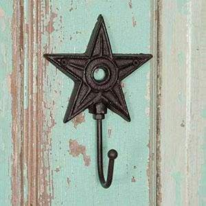 Architectural Star Hook - Box of 4 - Countryside Home Decor