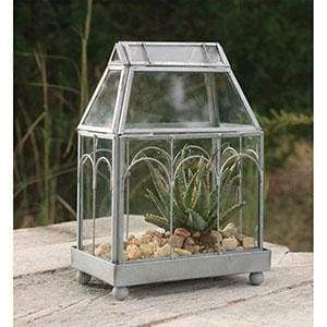Archway Glass Terrarium - Countryside Home Decor