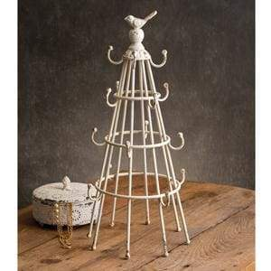 Bottle Drying Rack with Bird - Countryside Home Decor