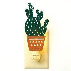 Cactus Night Light - Box of 4 - Countryside Home Decor
