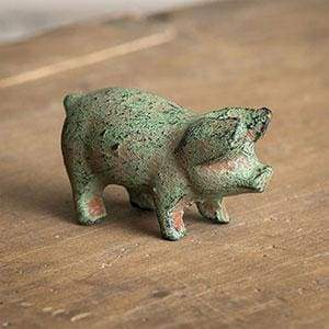 Cast Iron Piglet - Box of 4 - Countryside Home Decor