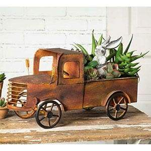 Charleston Pick-up Truck Planter - Countryside Home Decor